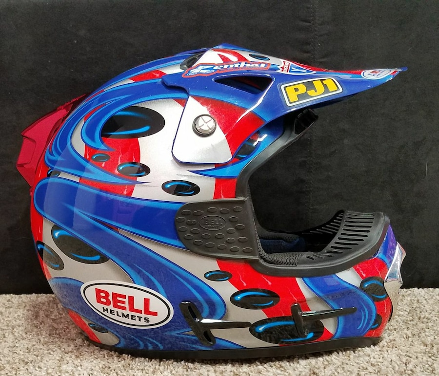 Graco Toy Stroller Parts Used Jeremy Mcgrath Replica Helmet For Sale In Westland