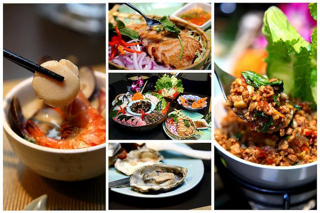 [台北大安]夜店時尚風~最潮的泰式餐廳~Thai Bazaa 泰集創意料理
