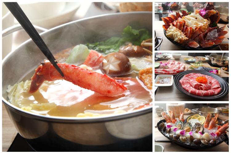 [台北大安]台北海鮮火鍋推薦,什麼最新鮮,活體海鮮最新鮮!頂級活體海鮮火鍋~紫筵精緻火鍋