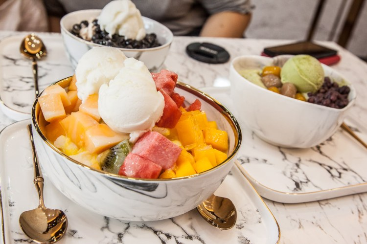 [桃園南崁]超質感冰店!超人氣水果爽料足味豐好好味!天下奇冰Icever 南崁店