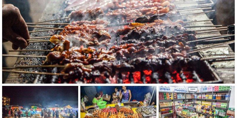 [菲律賓科隆]品嘗道地科隆街邊小吃,科隆夜晚也精采,同場加映科隆必買零食~科隆夜市