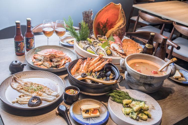 [新竹東區]新竹CP值最高!生猛海鮮輪番上,超豪華海鮮無菜單料理!誠食館-創食堂