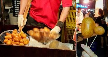 【台南安南區甜食】比大拇指還大的地瓜球 安南區排隊美食 素食可~921地瓜球