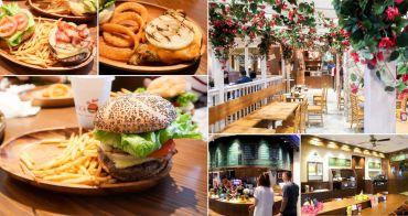 【台中美食】夏威夷人氣酪梨漢堡|厚厚的起司漢堡|美國總統的最愛~KUA`AINA夏威夷漢堡台中港三井店