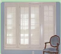 Decorative indoor louvered windows - 101033351