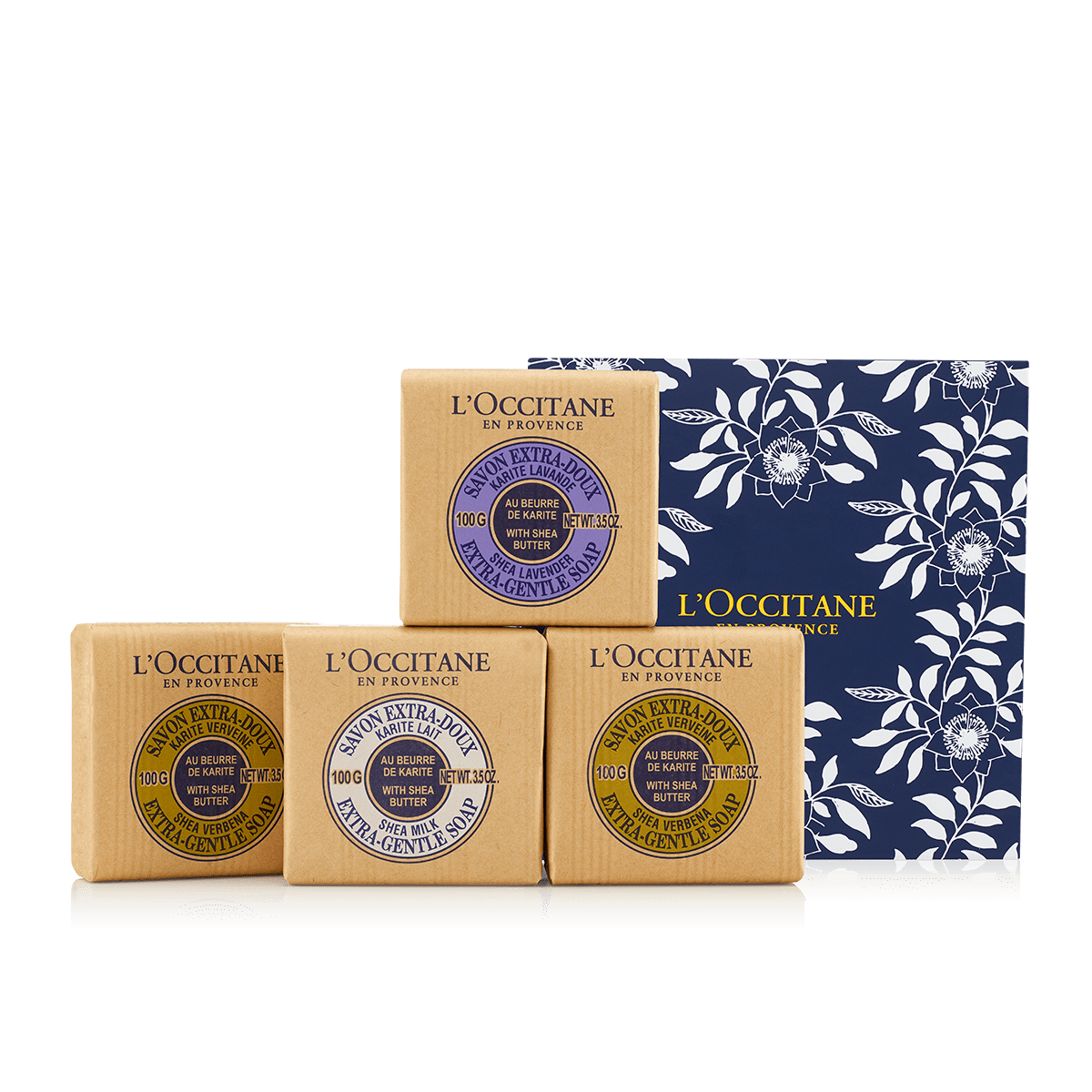 Cucina Bar Soap Gentle Shea Soap Set