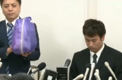【全文】競泳・冨田尚弥の釈明記者会見 「カメラをねじ込まれた」シーンを弁護士が再現