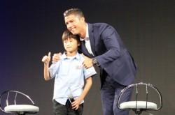 クリスティアーノ・ロナウド、日本のサッカー少年へアドバイス「絶対にうまくなるという野心を持て」
