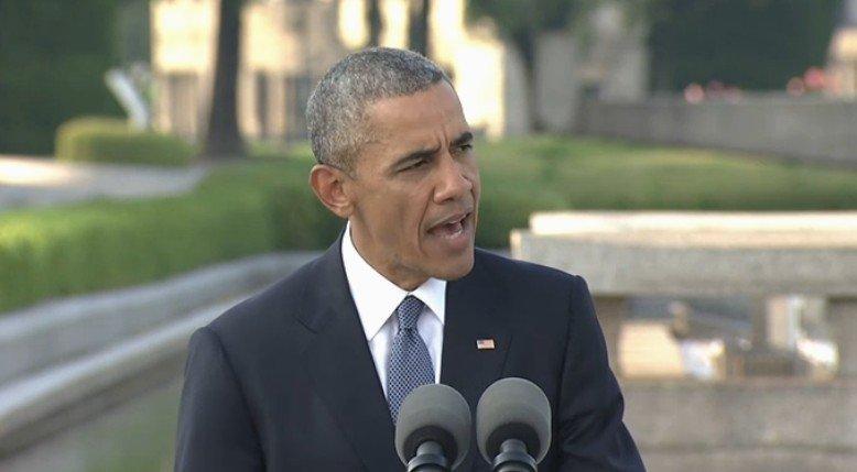 【全文】オバマ大統領広島訪問「技術の進歩には、道徳の進歩が伴うべきだった」被爆者の前で平和への決意を表す
