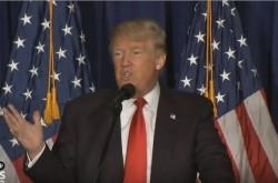 トランプ氏「オバマ大統領は我が国を弱体化させた」 アメリカ外交政策の新たな進路を語る