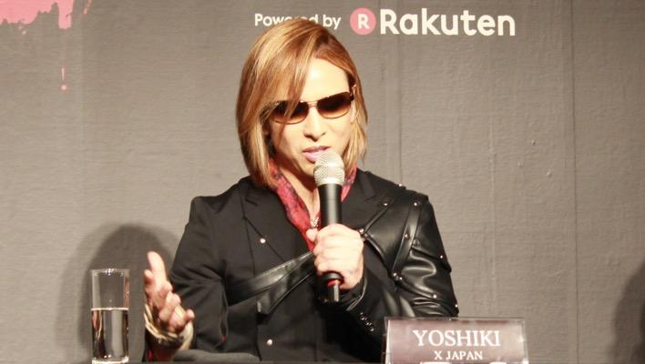 「hideやTAIJIの意志を背負う」日本最大級のV系フェスにかけるYOSHIKIの想い