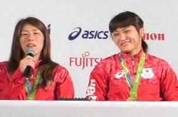 【全文】吉田沙保里「16回優勝できたのはライバルのおかげ」涙の銀メダルから一夜明けて レスリング女子会見