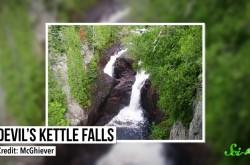 落ちた水の行方がわからない滝「デビルズ・ケトル」の謎