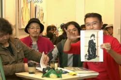 """モデルが服を脱ぐシーンを絵画に… 日本画家vs西洋画家""""エロい絵""""対決"""