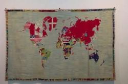 地図×アート 世界の姿を描きだす芸術家たちの挑戦