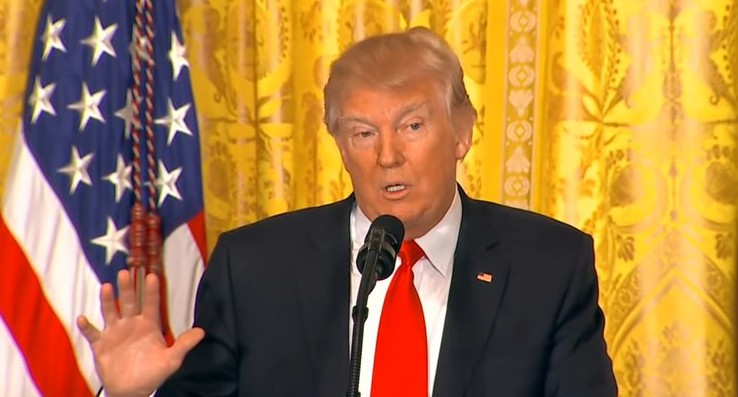 トランプ大統領「テロリストの国内への侵入を許さない」新たな大統領令を出すことを明言