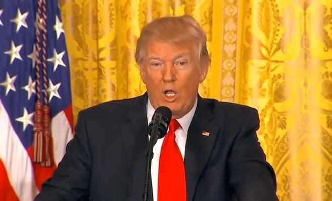 トランプ大統領、就任後初の単独記者会見「短期間でこれほどの成果をあげた大統領は存在しない」