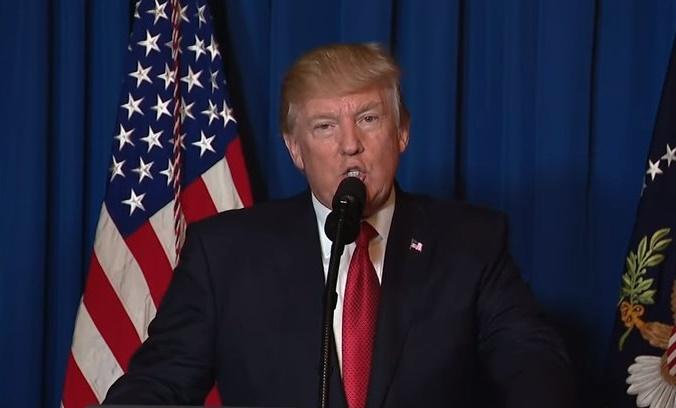 【全文】「シリアにおける大虐殺を終わらせる」ミサイル攻撃を命じたトランプ米大統領の声明