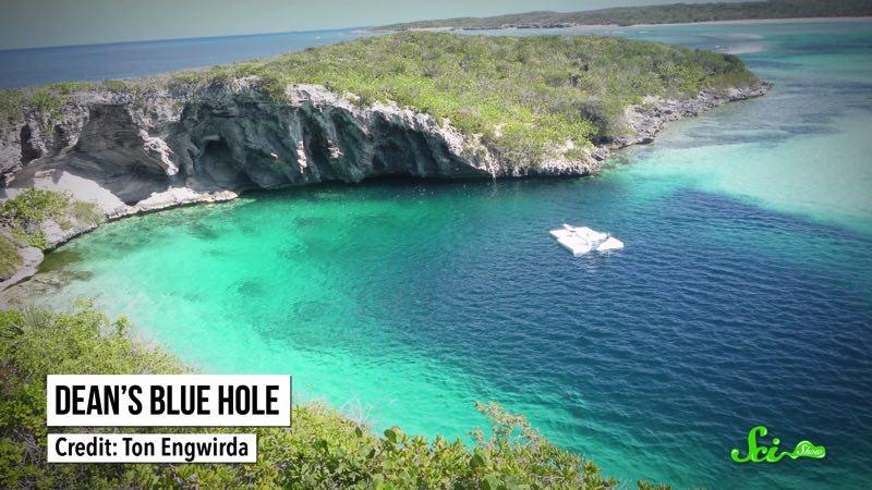 海でぽっかり口を開ける、なんか怖い「穴」の底にはなにがあるのか?