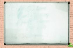 ホワイトボードに書いた文字が消えずに残る原因