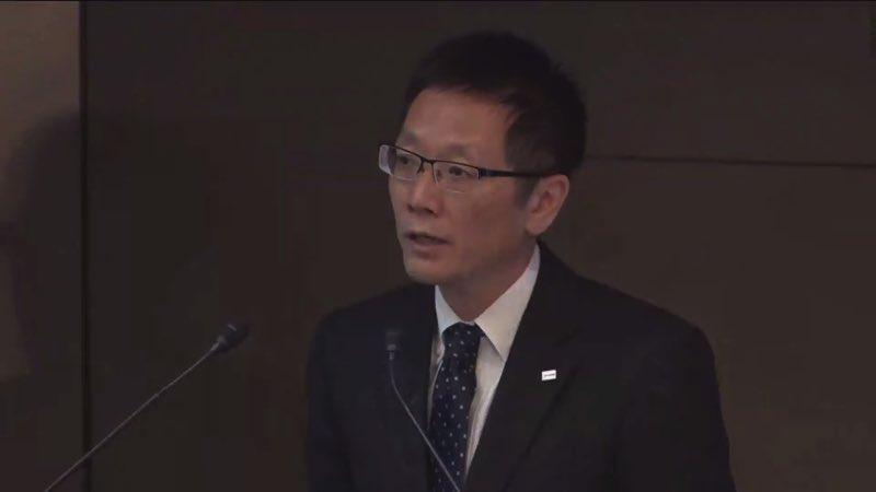 東芝記者会見 9500億円の赤字見通しほか、業績見通しの詳細を説明