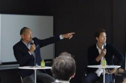 誰かに判断を委ねるのはダメ 元サッカー日本代表・福西氏と秋田氏が説く「判断力」の重要性