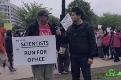 なぜ科学は重要なのか? アースデイのデモ行進参加者に突撃インタビュー