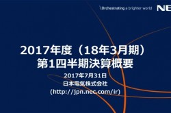 NEC、第1四半期は営業赤字144億円 日本航空電子工業の子会社化で赤字縮小