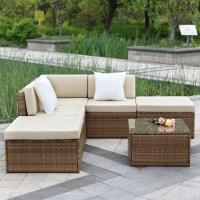 Wicker Rattan Sofa 9pcs Wicker Rattan Sofa Furniture Set ...