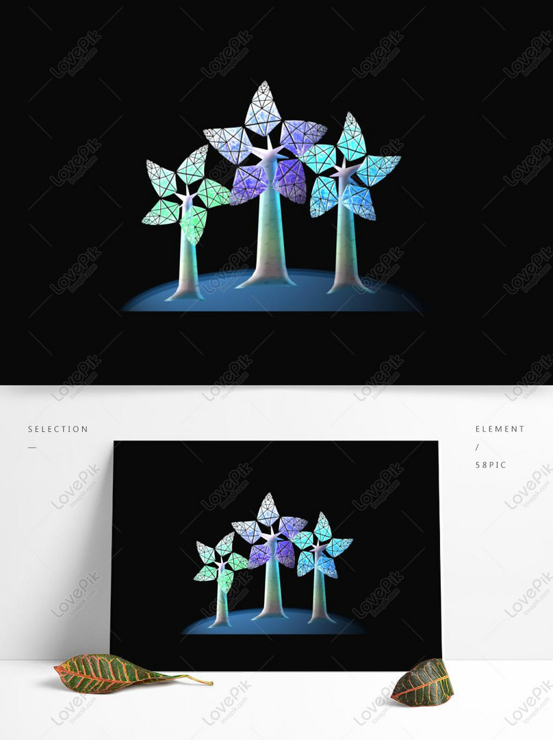 Ice Flower Pentagram Ice And Snow Plant Psd Images Free Download 1369 1024 Px Lovepik Id 733225158