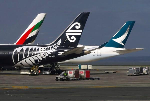 輸油管被怪手挖斷... 紐國奧克蘭機場航班大亂 - 國際 - 自由時報電子報
