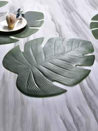 Tropical Leaf Table Mat | SHEIN