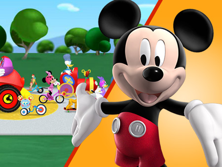 Rally Car Wallpaper Snow Mickey Mouse Clubhouse All Games Page Disney Junior India