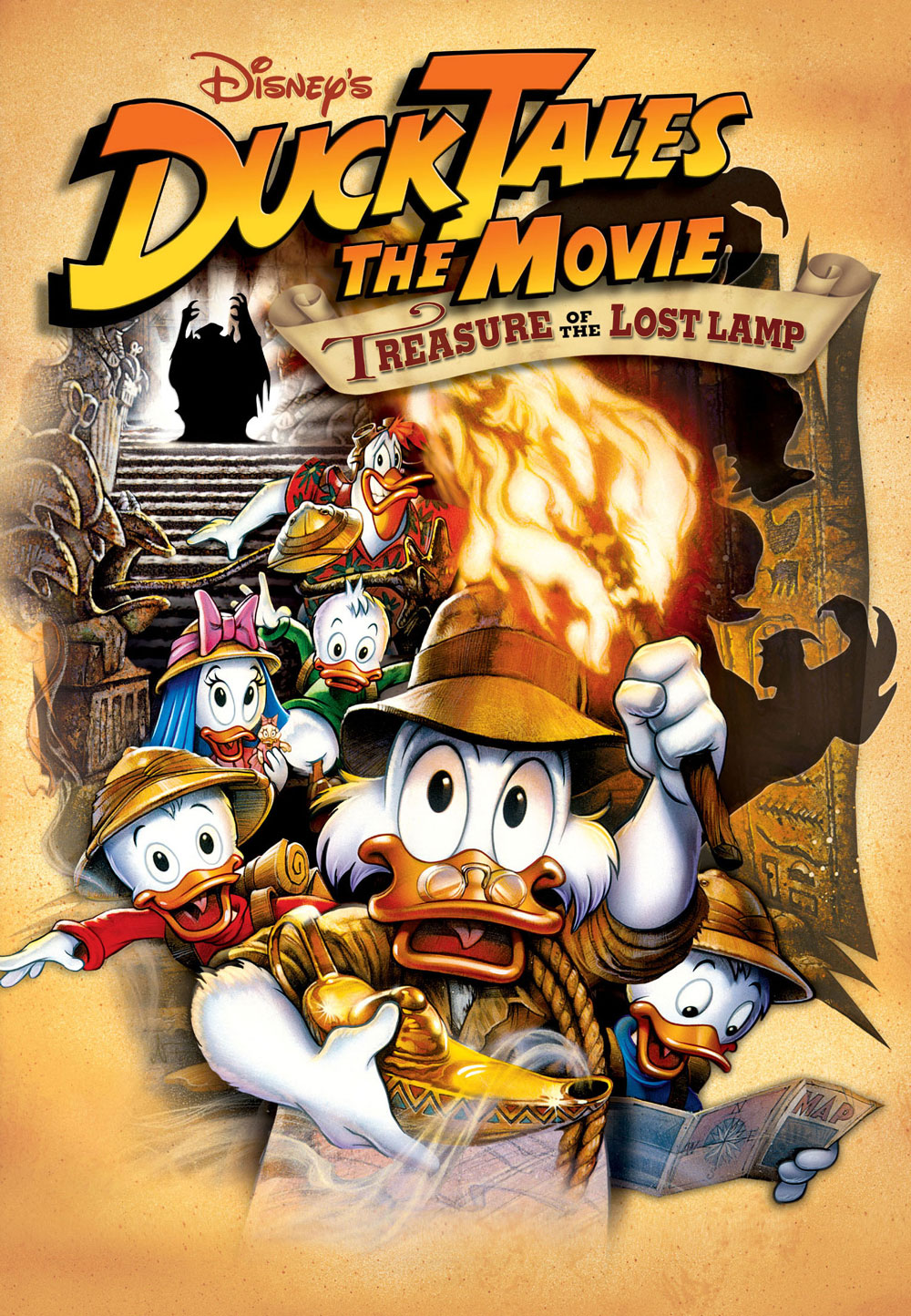 Chip And Dale Wallpaper Hd Ducktales The Movie Treasure Of The Lost Lamp Disney