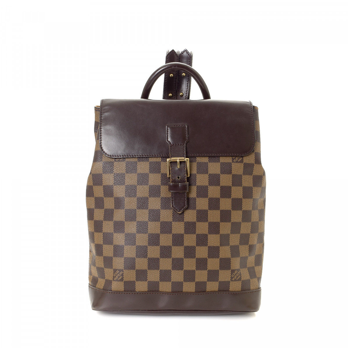 vintage louis vuitton damier ebene soho backpack by