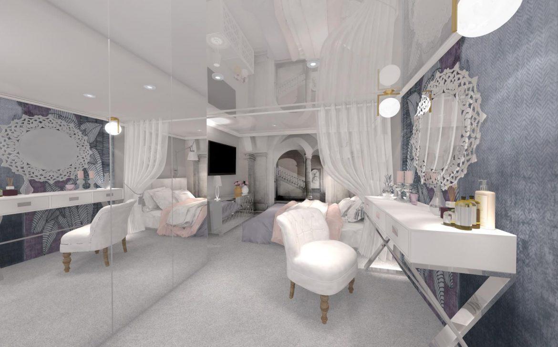 Sypialnia Glamour Meble Tapicerowane Na Zamowinie W Stylu