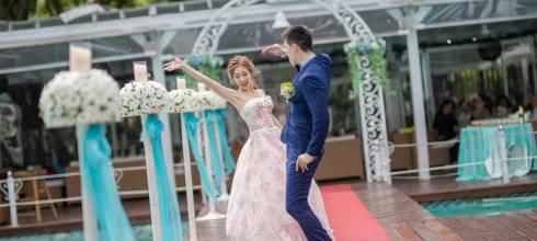 台北婚攝-林毅&慈恩-婚禮-青青食尚婚宴會館