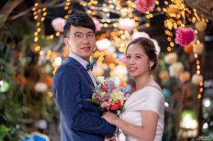 台北婚攝-育軒&亞嫺-天主教婚禮-台北花卉村