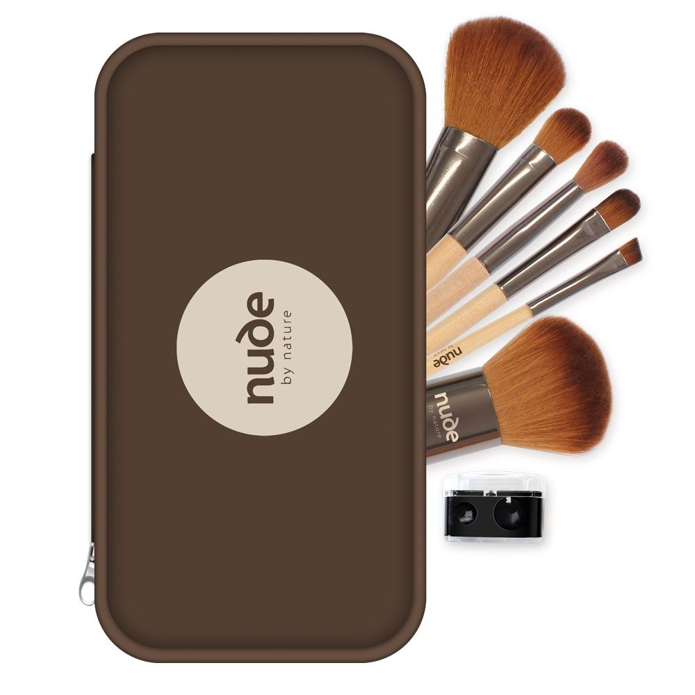 Nude Look Nude By Nature Get Nude Look 8 Piece Brush Kit Reviews, Photos, Ingredients - Makeupalley
