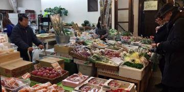 京都旅遊景點 錦市場-京都人的廚房,觀光客的朝聖地