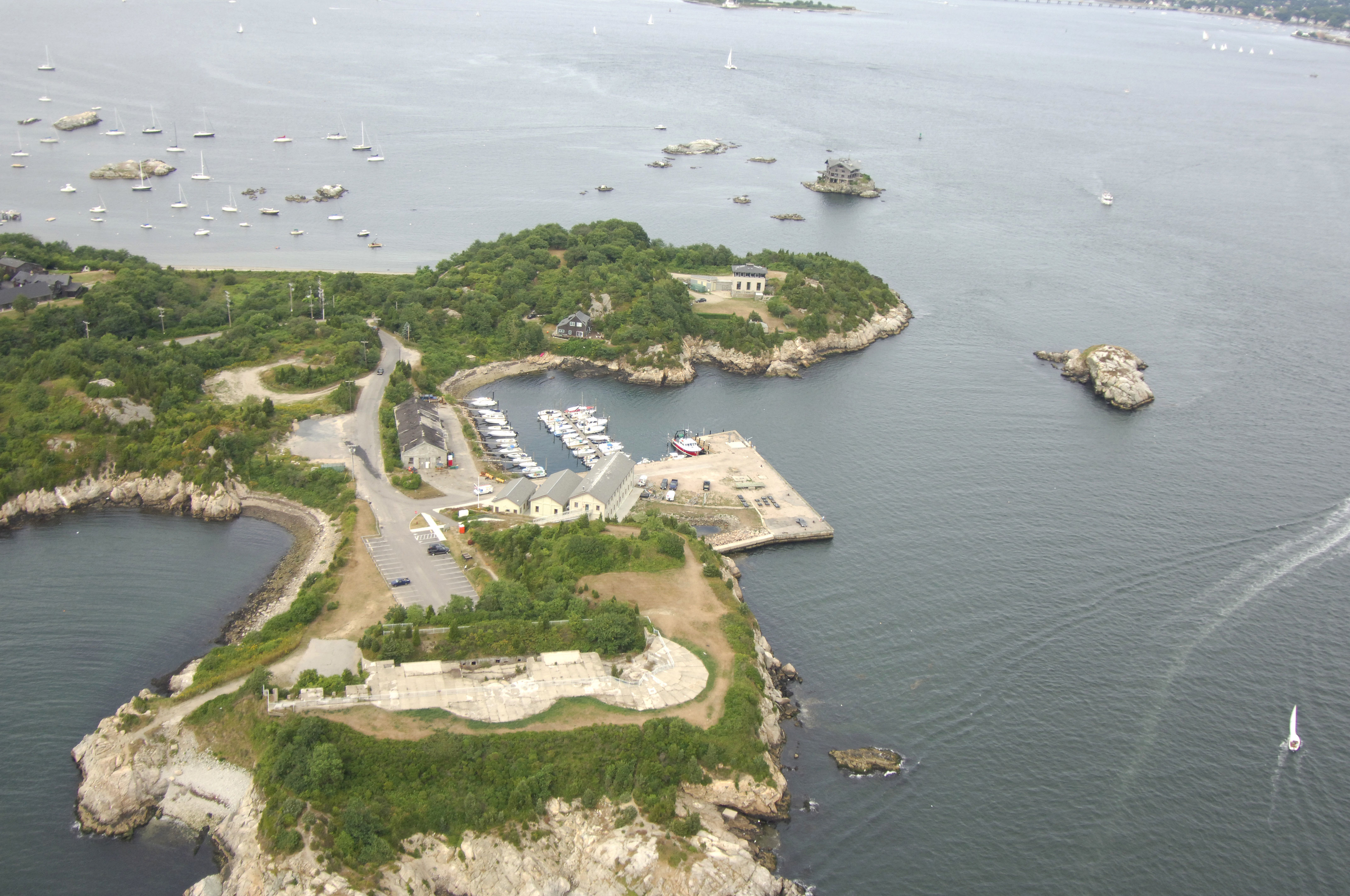 Fort Wetherill State Park Marina In Jamestown Ri United