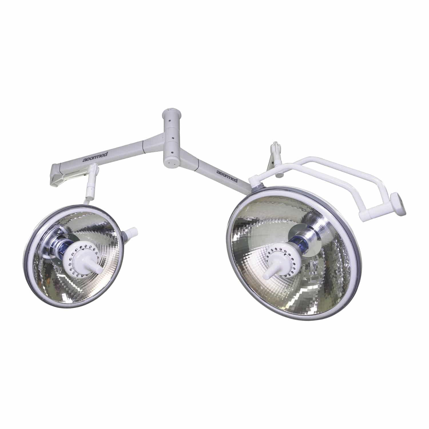Halogenlampe Led Ceiling Mounted Surgical Light Led Halogen 2 Arm Purelit