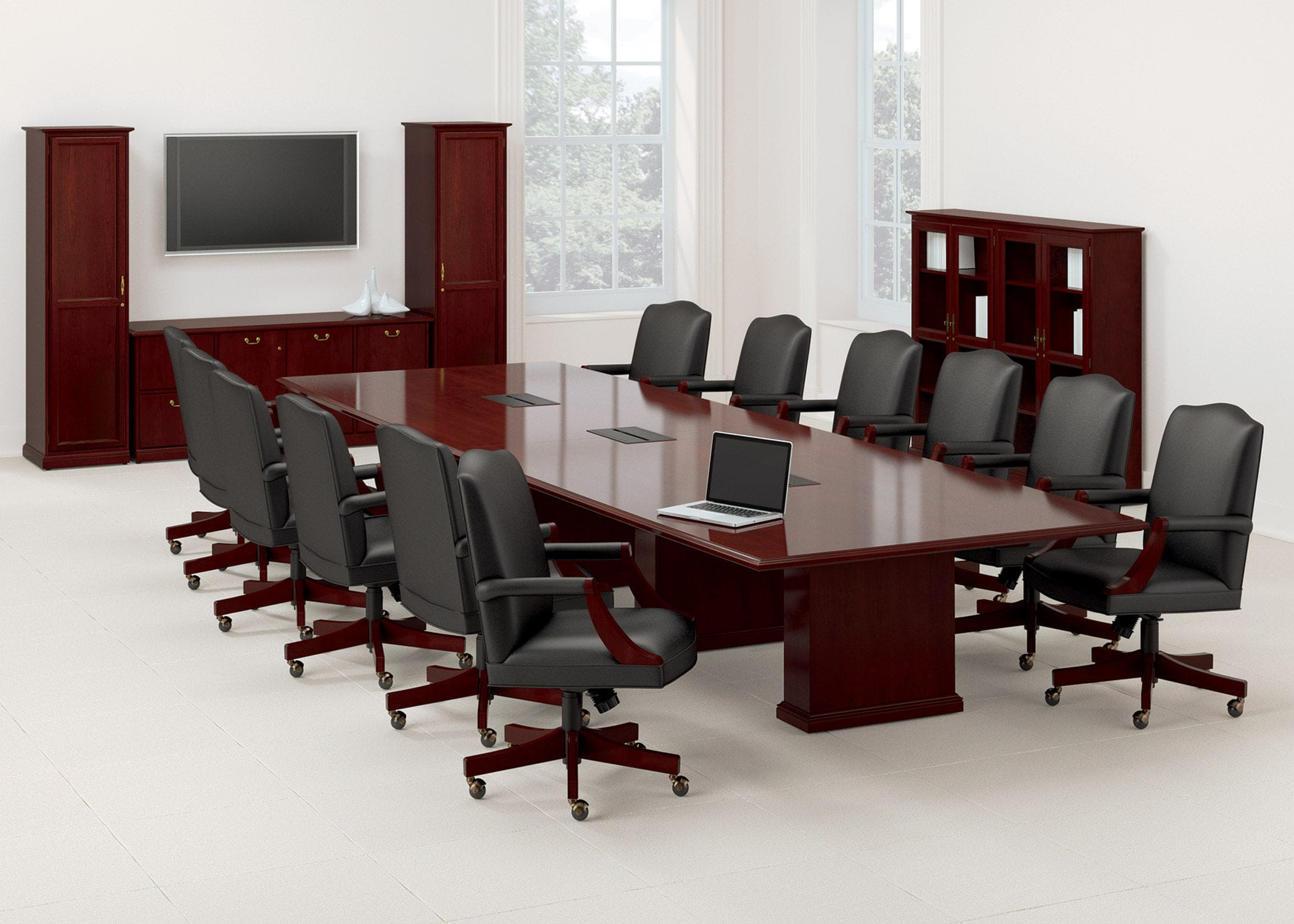Classic Table Office Meeting Room Table Office Rectangular Barrington National Office Furniture