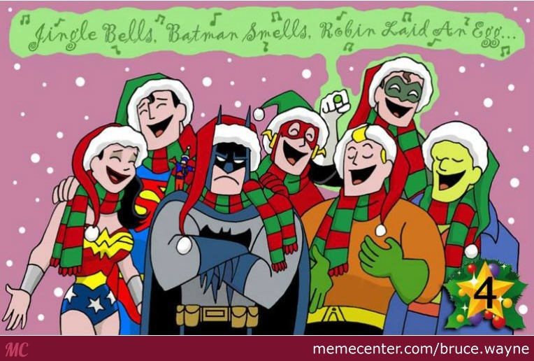 Cute Merry Christmas Wallpaper Dogs Batman Doesn T Like Christmas By Bruce Wayne Meme Center