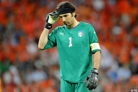 In need of a change? Italy keeper Gianluigi Buffon
