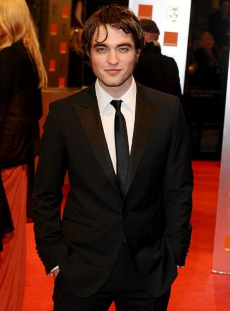 Robert Pattinson Bafta Awards 2010