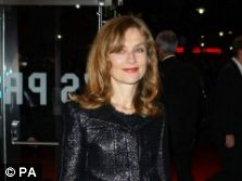 Villa Amalia's Isabelle Huppert 