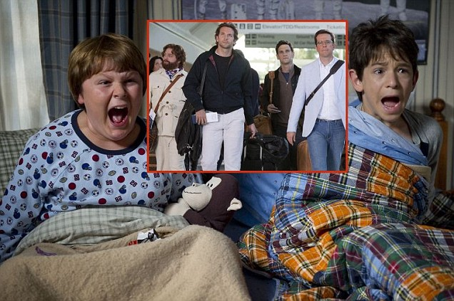 The Hangover Part 2 takes on Diary Of A Wimpy Kid 2: Rodrick Rules