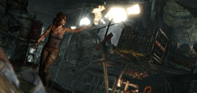 Lara Croft: back and fighting for survival