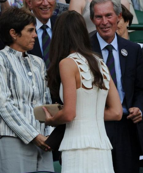 Kate Middleton, Prince William, Andy Murray, Richard Gasquet, Wimbledon 2011